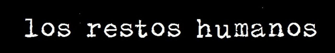 Logotipo los restos humanos
