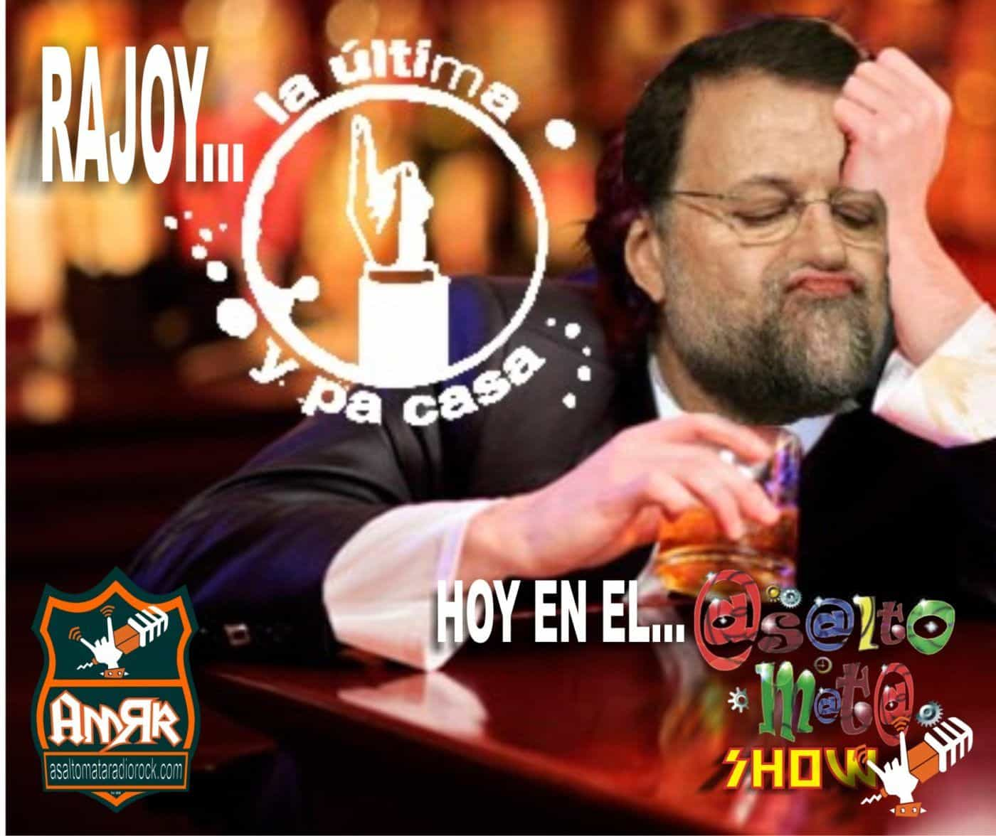 Rajoy cesado