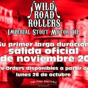 Pre-venta nuevo disco WILD ROAD ROLLERS